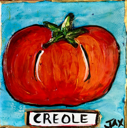 Creole Tomato - New Orleans Art