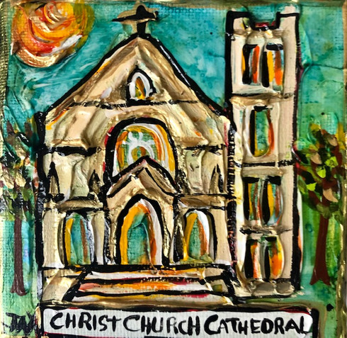 Christ Church Cathedral New Orleans Art