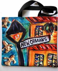 Jax Frey New Orleans Art - totes