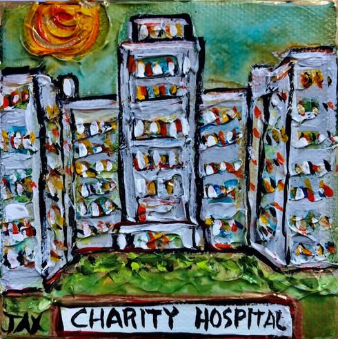 Charity Hospital - New Orleans Art
