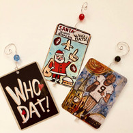 Ornament Who Dat Bundle - New Orleans art