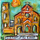 Our Lady of the Lake Mini Painting, New Orleans Art