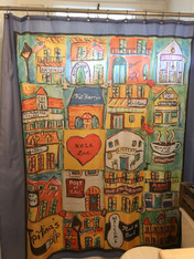 Shower Curtain - Nola Love
