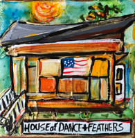 House of Dance & Feathers  Mini Painting