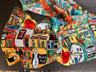 Nola Love Scarf - New Orleans gifts New Orleans art