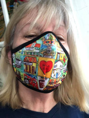 New Orleans Face mask