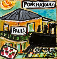 Ponchatoula  Mini Painting