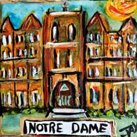 Notre Dame Mini Painting