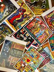 3 Art Prints on paper Special Sale