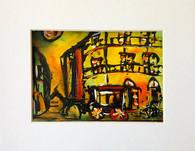 "French Quarter- 8 x 10"""" - Original Art Matted"