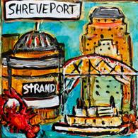 Shreveport Mini Painting