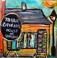 Marie Laveau's House of V oodoo  Mini Painting