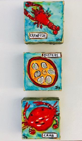 Mini Painting Combo - Our favorite foods
