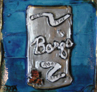 Barq's Root Beer mini paitning