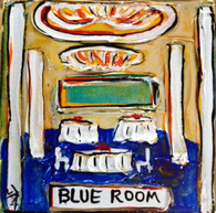 Blue Room mini painting