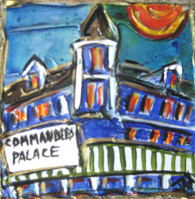 Commander's Palace mini painting
