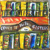 Court of Two Sisters mini painting