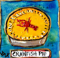 Crawfish Pie mini painting