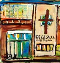 De La Salle mini painting