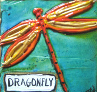 Dragonfly mini painting