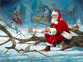 """Christmas Service"" Christmas cards"