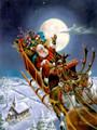 """Santa's Big Night"" Christmas cards"