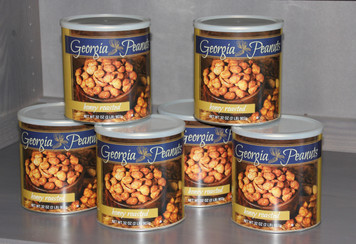 Case of Honey Roasted Peanuts (6 - 32 oz. cans)