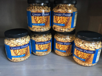 Case of Skinless Roasted Peanuts (6 - 32 oz. cans)