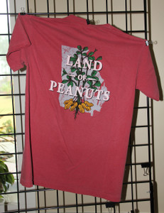 "Georgia Peanuts ""Land of Peanuts"" crimson t-shirt"