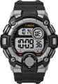 Timex Men's TW5M27700 A-Game DGTL 50mm Black/Gray Resin Strap Watch G818-TW5M27700
