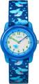 Timex Youth TW7C13500 Blue Sharks Nylon Strap Watch G818-TW7C13500