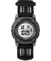 Timex TW7C26400 Youth Digital Black/Grey Striped Fastwrap   Strap Watch G818-TW7C26400