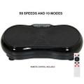 Black Full Body 99 Speed Oscillating Vibration Platform Q280-BLUATRA1492