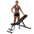 Multi-position Weight Training Flat Incline Decline Folding Exercise Bench Q280-BSPFC5198125