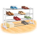 4-Tier Shoe Rack - Holds up to 20 Pair of Shoes Q280-LSR1954578
