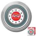 30s Style Chrome Coca-Cola Wall Clock Q280-1930SCCWC1753