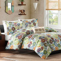 King size Multi Color Paisley 4 Piece Bed Bag Comforter Set Q280-MZCS8196511