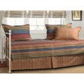 Reversible 5-Piece Daybed Set with Bed-skirt and Three Pillow Shams Q280-5PGH5998C