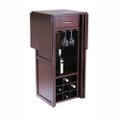 9 Bottle Walnut Wine Bottle Rack Mini Bar Expandable Counter Q280-CBRJF305