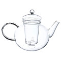 Borosilicate Glass 1.32 Quart Teapot with Removable Infuser Q280-GMTSCI1859381