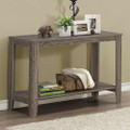 Sofa Table Console Table in Dark Taupe Wood Finish Q280-MSCTDT169848482