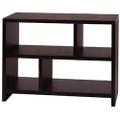Modern 2-Shelf Bookcase Console Table in Espresso Wood Finish Q280-BMBCOR9818571