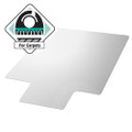 Heavy Duty 47 x 35 inch Chair Mat with Lip for Low to Medium Pile Carpet Floor Q280-FCUMPCB434765921