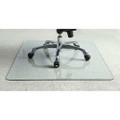 Heavy Duty 50 Inch Tempered Glass Chair Mat Q280-HDTGCM5088