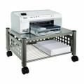 Mobile Heavy Duty Under-desk Printer Stand in Matte Gray Q280-AMD703516