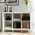 Adjustable Shelf 6-Cube Bookcase Storage Unit Sideboard in White Q280-WASCBC9857541