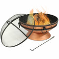Cauldron Steel Wood Burning Fire Pit with Spark Screen Q280-PCSWFP1699