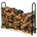 Adjustable Length Firewood Log Rack for Indoor or Outdoor Use Q280-PALR33913