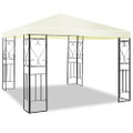 10 x 10 Ft Outdoor Steel Frame Gazebo Shelter with Waterproof Polyester Canopy Q280-PGCTS1867335