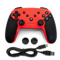Gamefitz Wireless Controller for the Nintendo Switch in Red